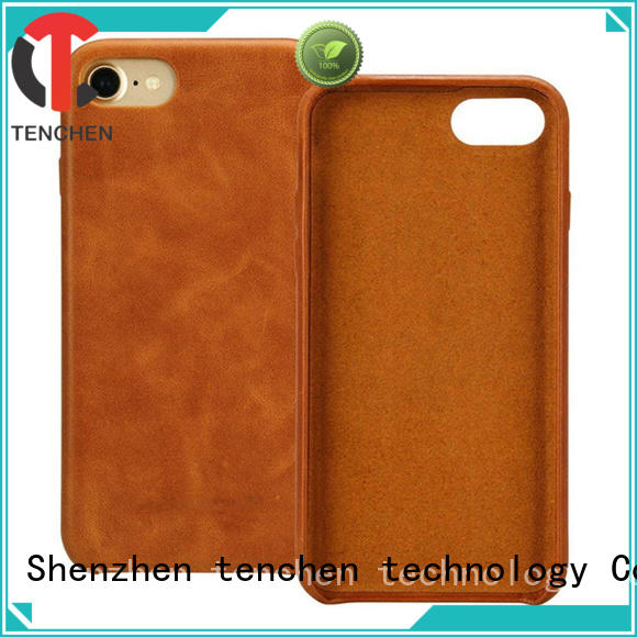 TenChen Tech luxury glitter cell phone cases wooden for shop