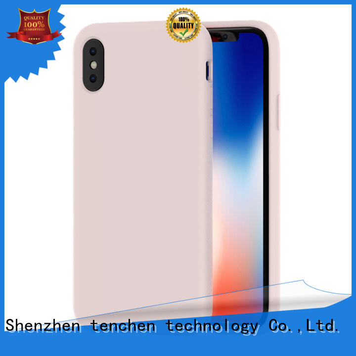 TenChen Tech semitransparent mobile phone case directly sale for store
