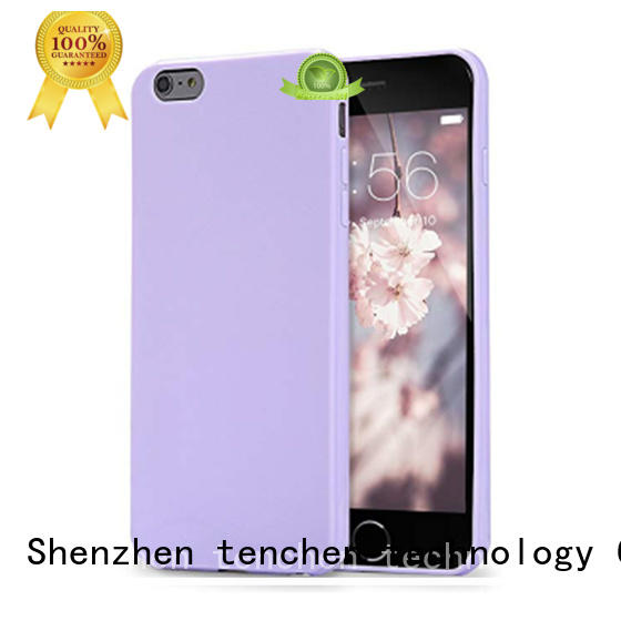 Quality TenChen Tech Brand scratch silicone case iphone 6s