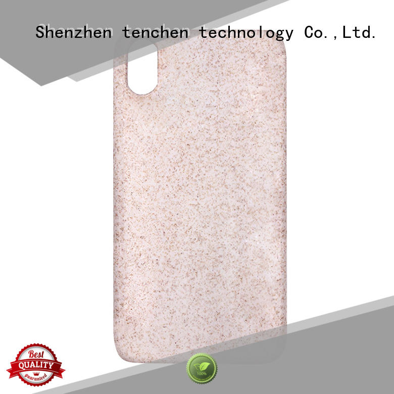 Hot liquid mobile phones covers and cases luxury TenChen Tech Brand