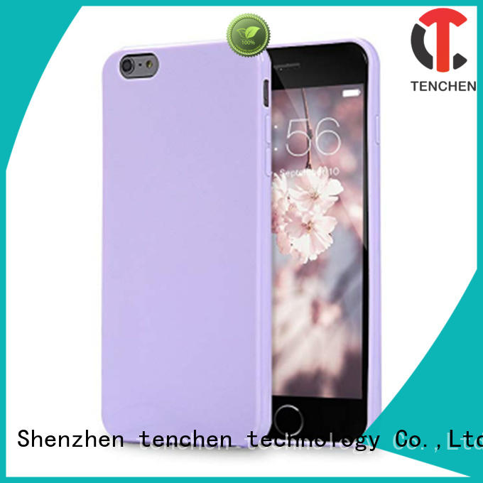 leather clear back case iphone 6s TenChen Tech Brand company