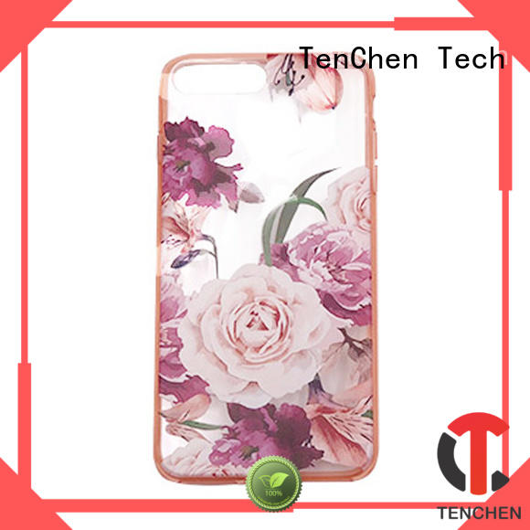 protective gradient scratch TenChen Tech Brand case iphone 6s