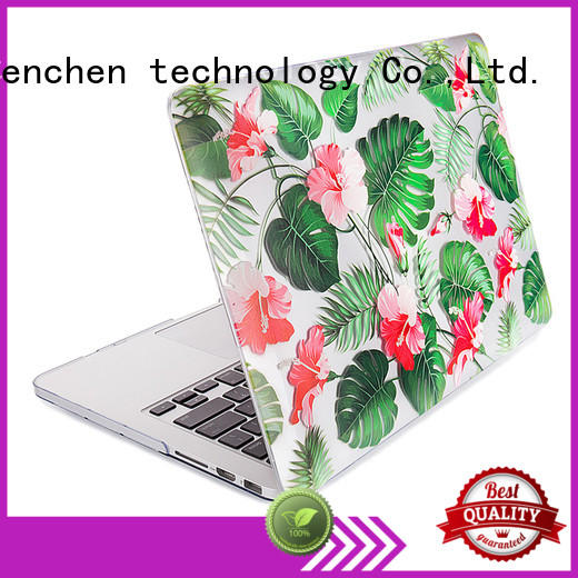 printed leather macbook pro case from China for retail