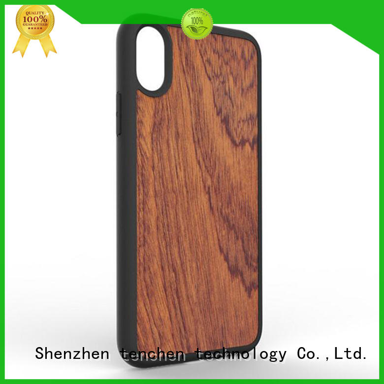 TenChen Tech wooden custom made phone case series for shop