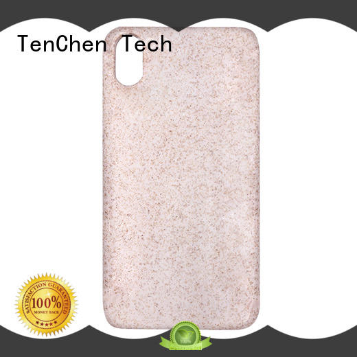 TenChen Tech flax phone case factory china from China for shop