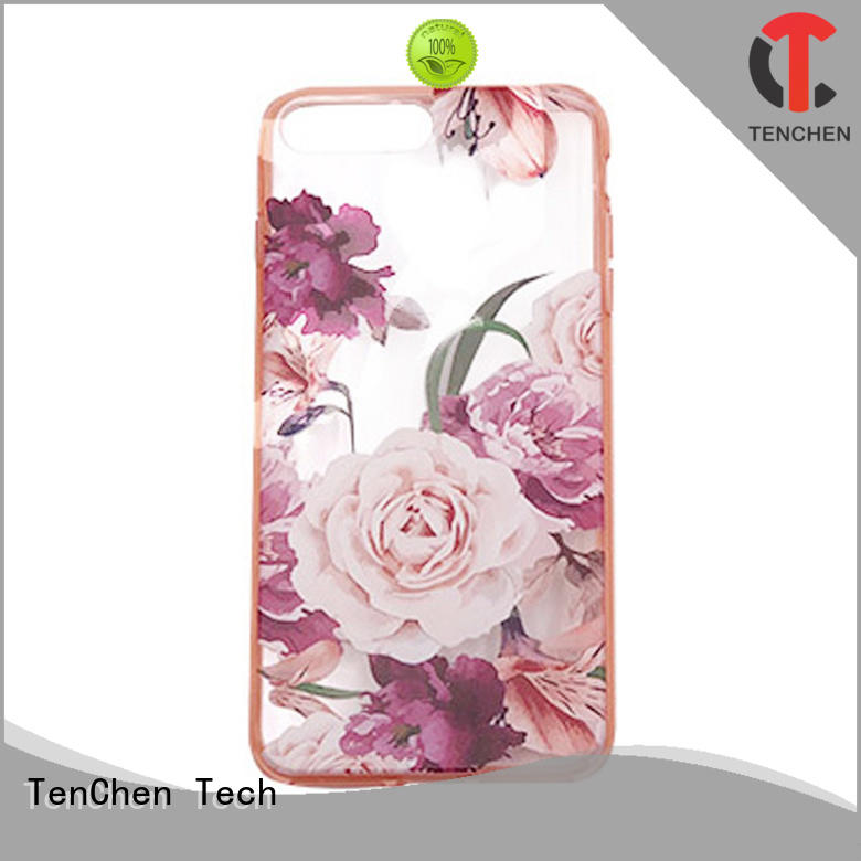 TenChen Tech wooden smartphone case factory manufacturer for home