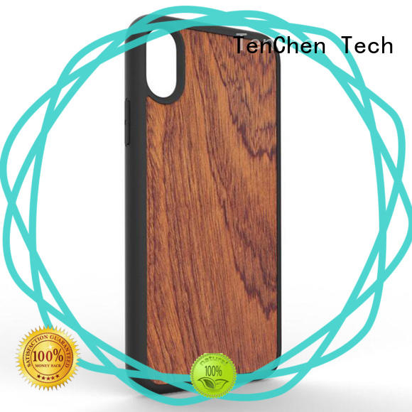 wooden case protective phone cover