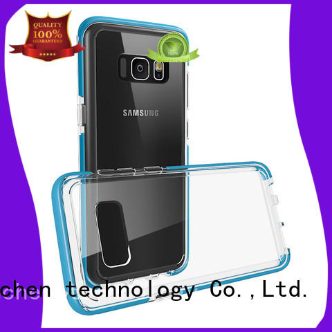 colour bumper mobile phones covers and cases TenChen Tech manufacture