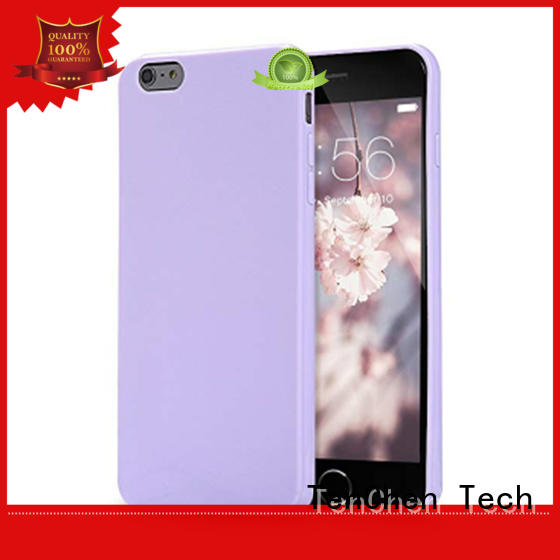 mobile phones covers and cases silicone microfiber resistant TenChen Tech Brand company