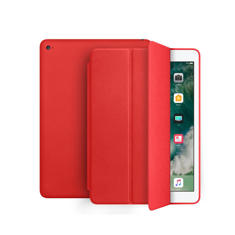 Leather iPad case protective pad cover-2