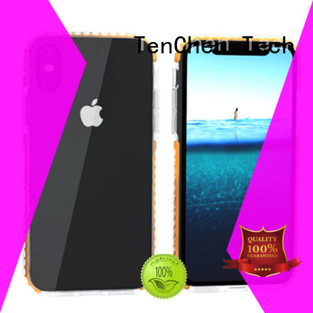 TenChen Tech clear phone case factory directly sale for retail