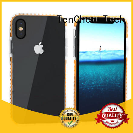 TenChen Tech colored cell phone case companies leather for retail