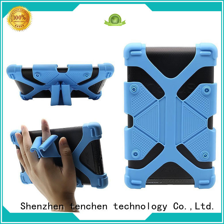 rubber apple ipad air case leather quality TenChen Tech company
