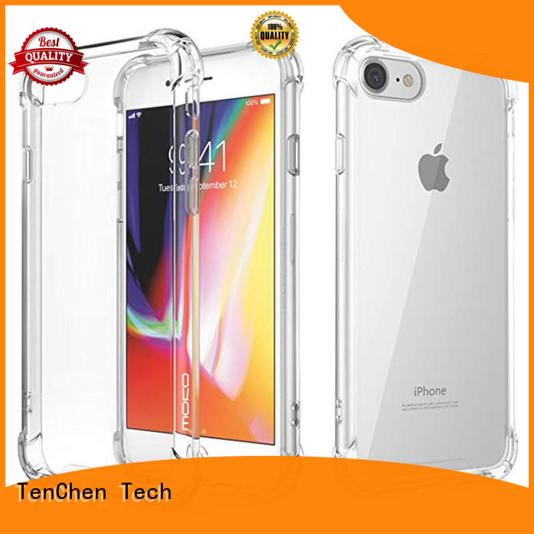 TenChen Tech Brand clear pla case iphone 6s edge factory