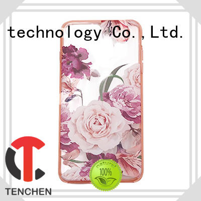 TenChen Tech semitransparent phone case factory customized for shop