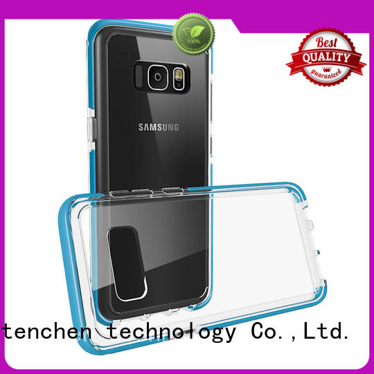 microfiber Custom silicone colour case iphone 6s TenChen Tech carbon