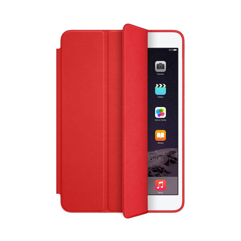 Leather iPad case protective pad cover-3