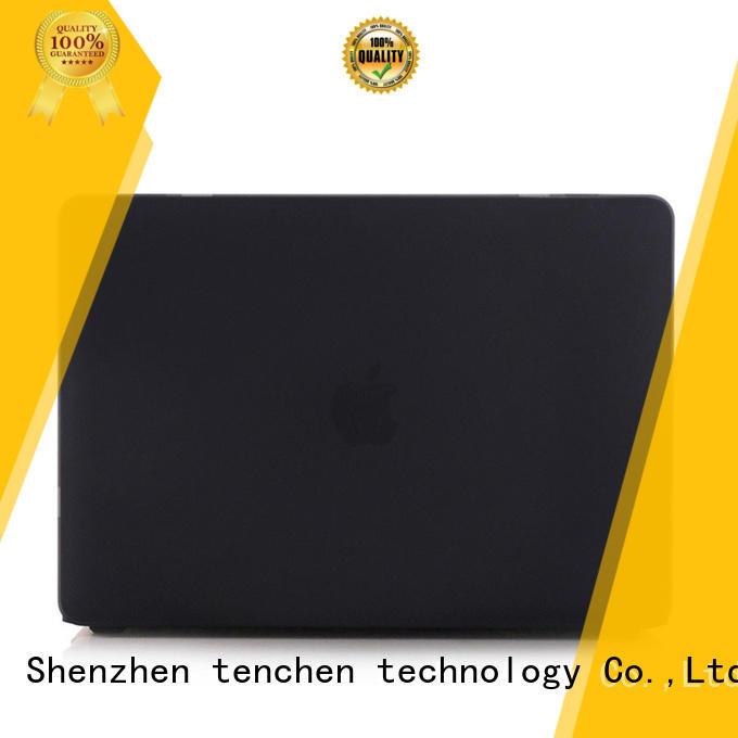 Hot macbook pro protective cover black TenChen Tech Brand