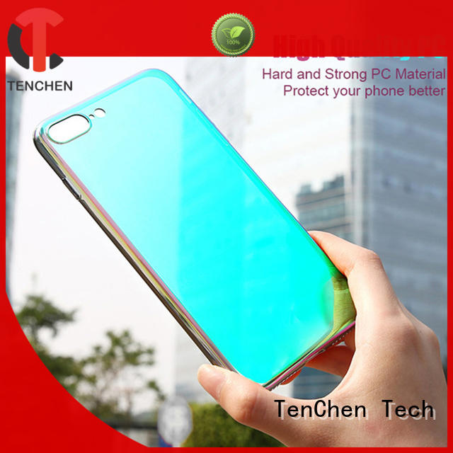 TenChen Tech Brand gradient clear case iphone 6s protective factory