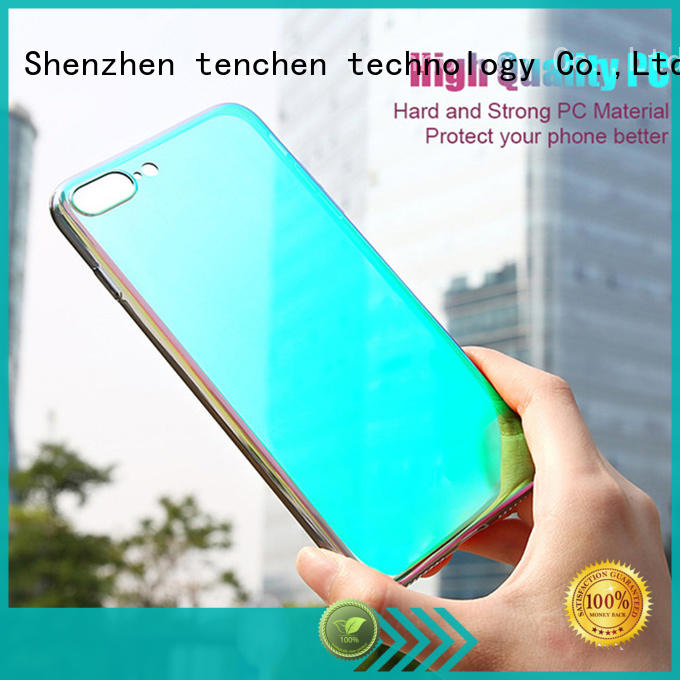 TenChen Tech rubber custom iphone case maker from China for home