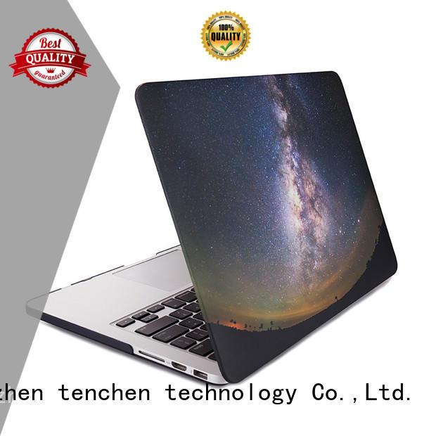 TenChen Tech black leather macbook case manufacturer for shop