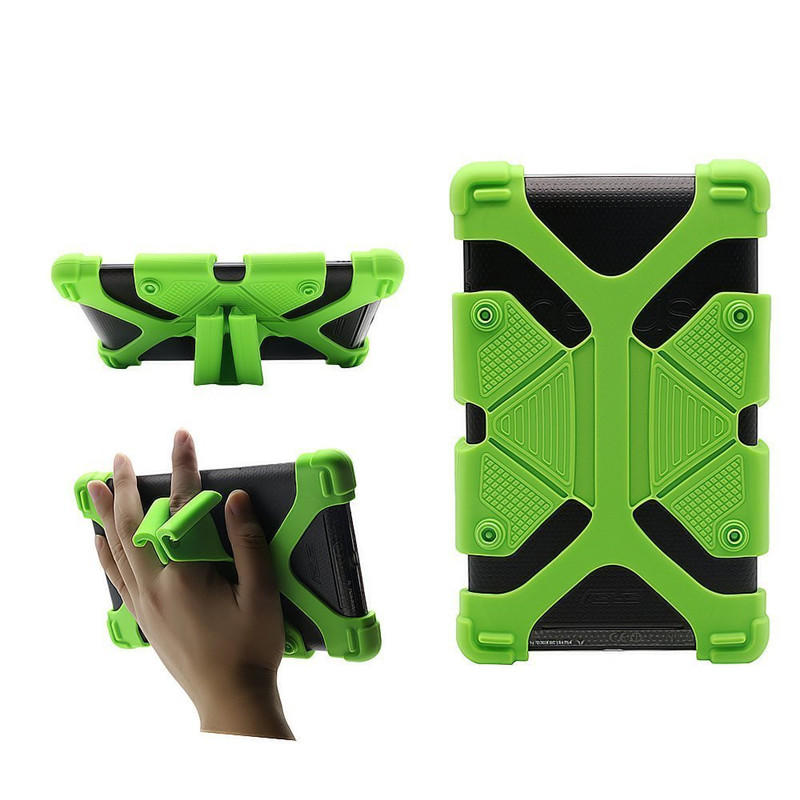 TenChen Tech-Ipad Mini Protective Case Back Cover Case Shock Proof Rubber Silicon-1