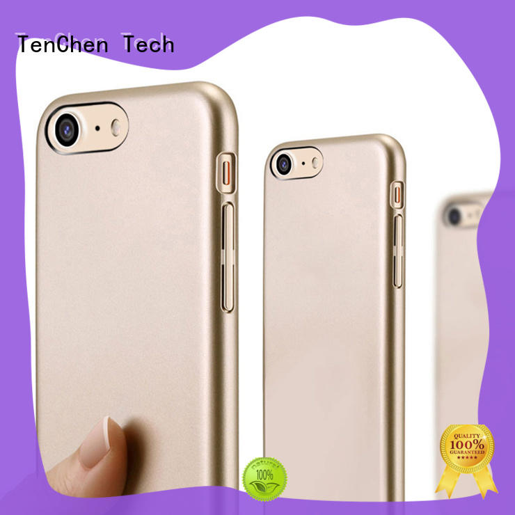 edge custom phone case manufacturer silicone for retail TenChen Tech