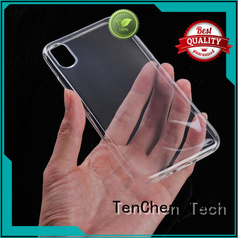 mobile phones covers and cases liquid black TenChen Tech Brand company