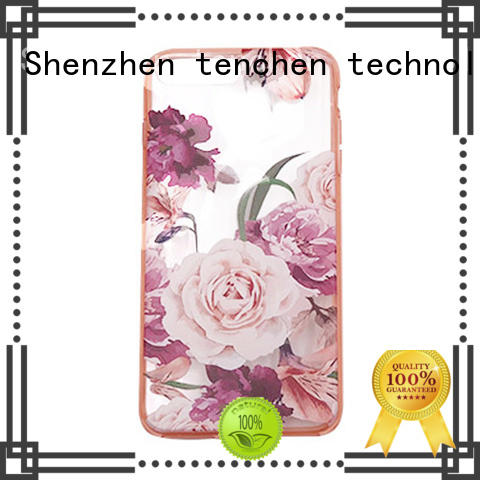 TenChen Tech clear pla case wooden for shop
