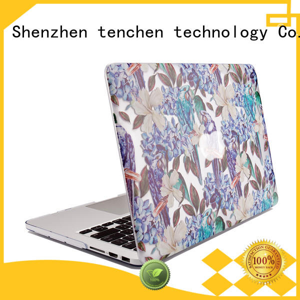 TenChen Tech shell macbook air book case directly sale for retail