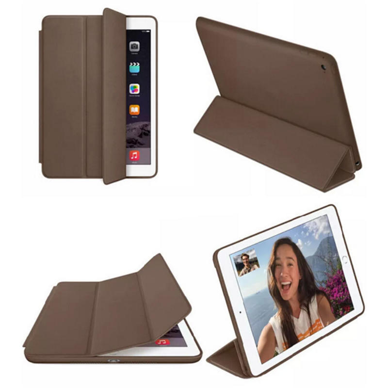 Leather iPad case protective pad cover-1