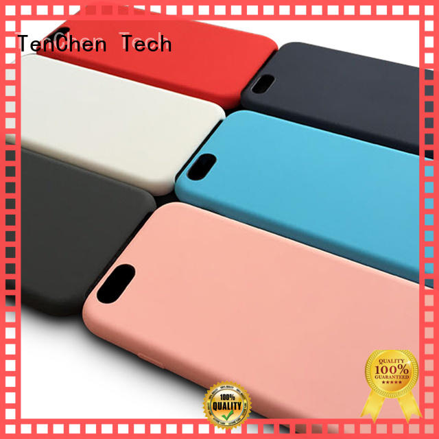 carbon scratch mobile phones covers and cases corner hard TenChen Tech Brand