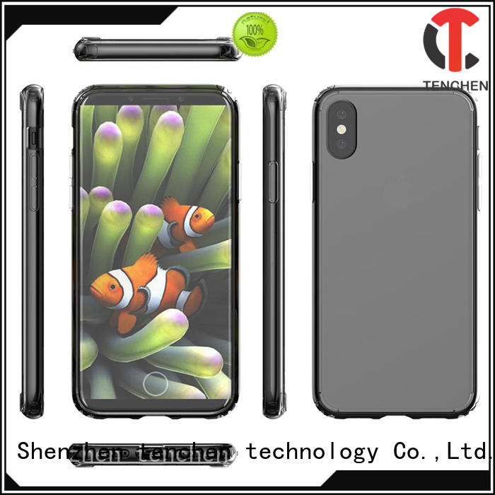 mobile phones covers and cases cover clear tpe TenChen Tech Brand company