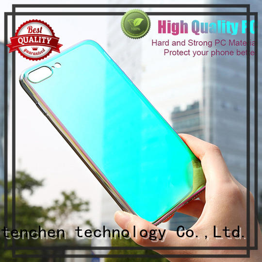 TenChen Tech liquid leather mobile phone cases directly sale for shop