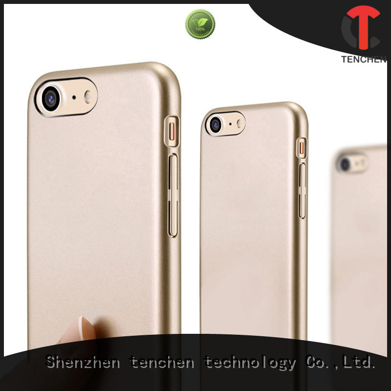 TenChen Tech silicone clear silicone iphone 7 case series for retail