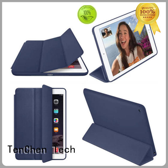 leather apple ipad air smart case supplier for shop