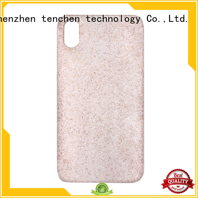 wood gradient mobile phones covers and cases leather blank TenChen Tech Brand