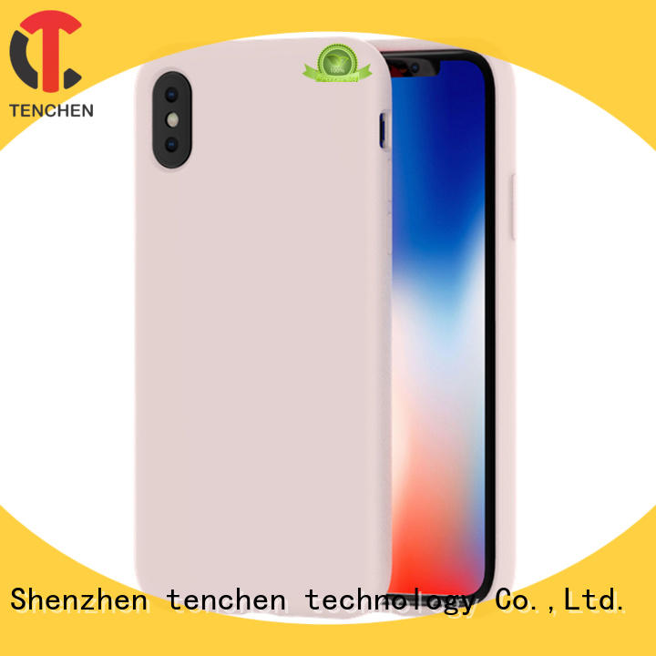 TenChen Tech clear custom iphone case carbon for shop