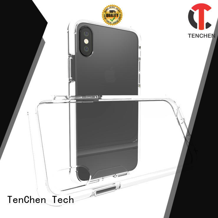 TenChen Tech Brand bumper ecofriendly liquid mobile phones covers and cases transparent