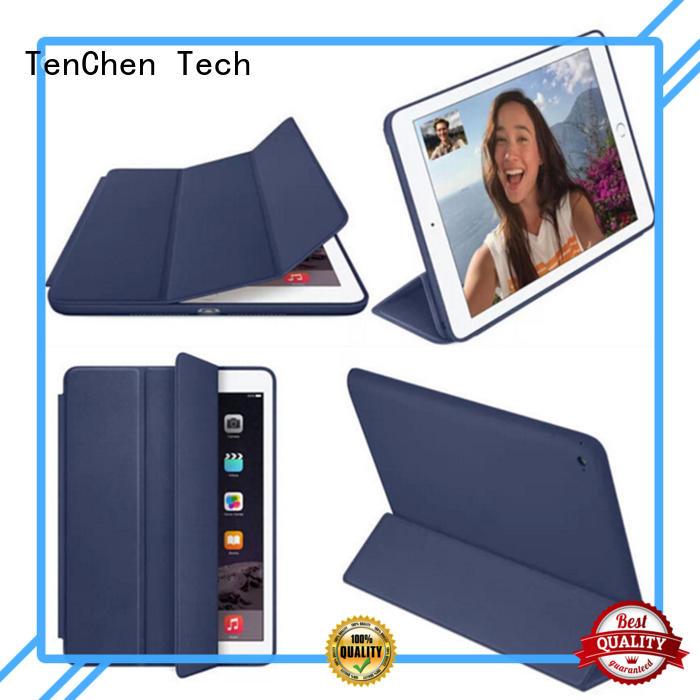 rubber Custom pad proof apple ipad air case TenChen Tech shock