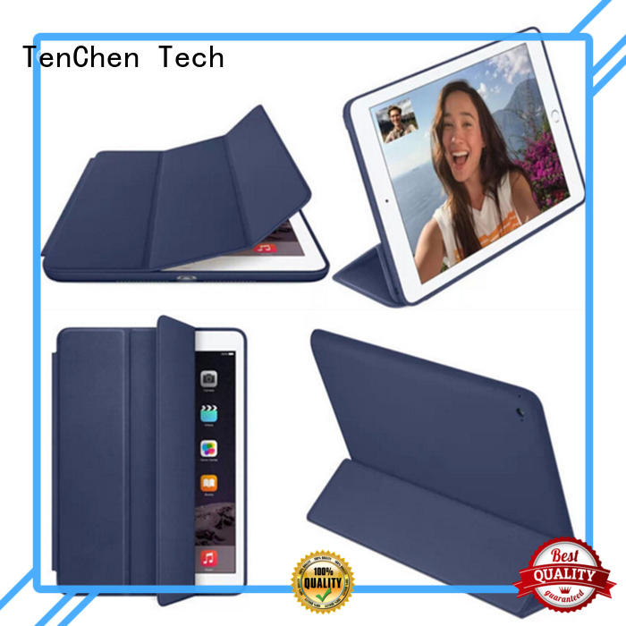 rubber Custom pad proof apple ipad air case TenChen Tech shock