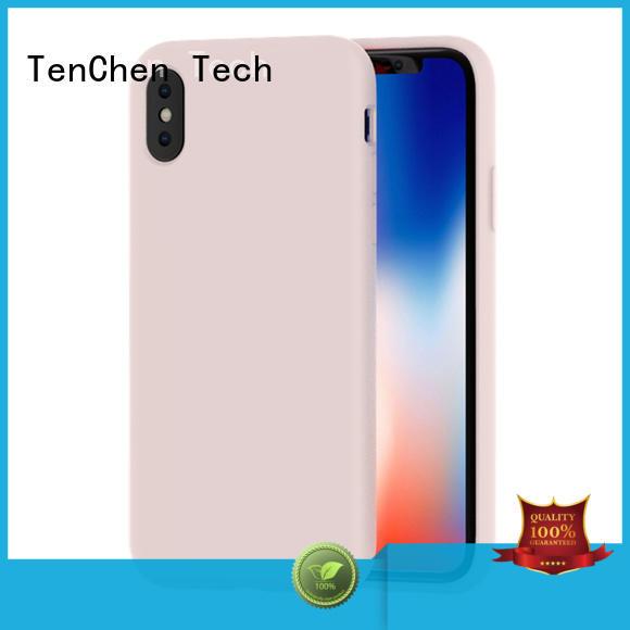 soft polyurethane phone case customized for retail TenChen Tech