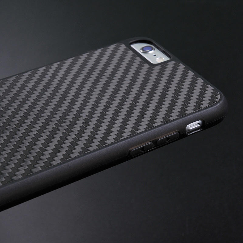 Luxury Black Real Carbon Fiber Case For Iphone CB0001-2