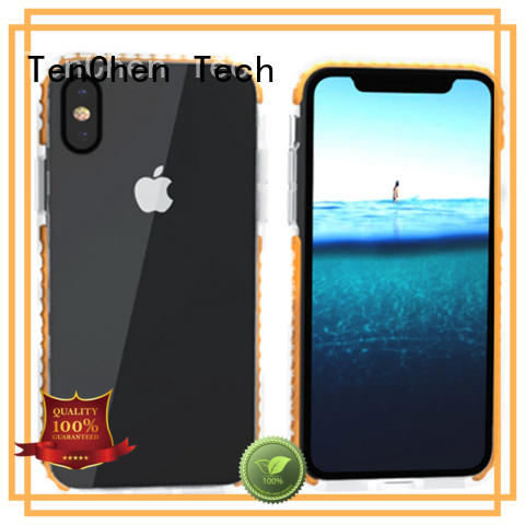 TenChen Tech clear phone case companies directly sale for store