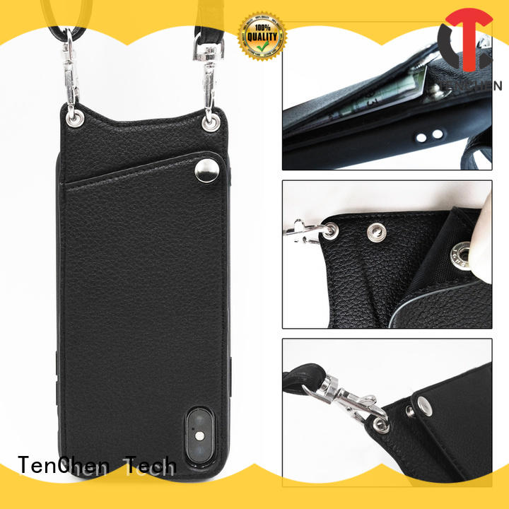 TenChen Tech semitransparent phone case manufacturer china manufacturer for retail