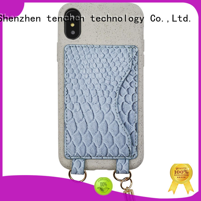 TenChen Tech coated eco friendly phone case manufacturer for retail