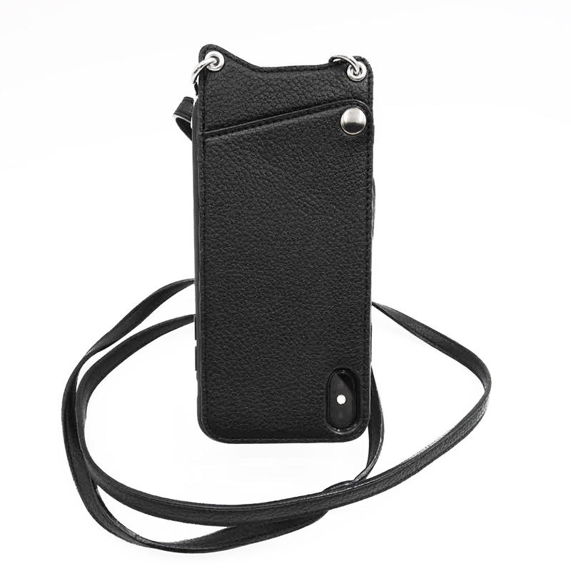 product-TenChen Tech-High quality leatherPu clear tpu pc case with strap-img