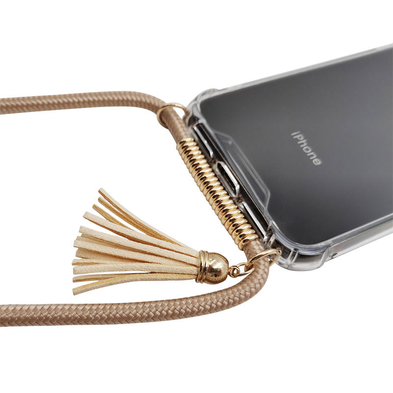 product-Tassel necklace protective mobile phone case for iPhone-TenChen Tech-img-1
