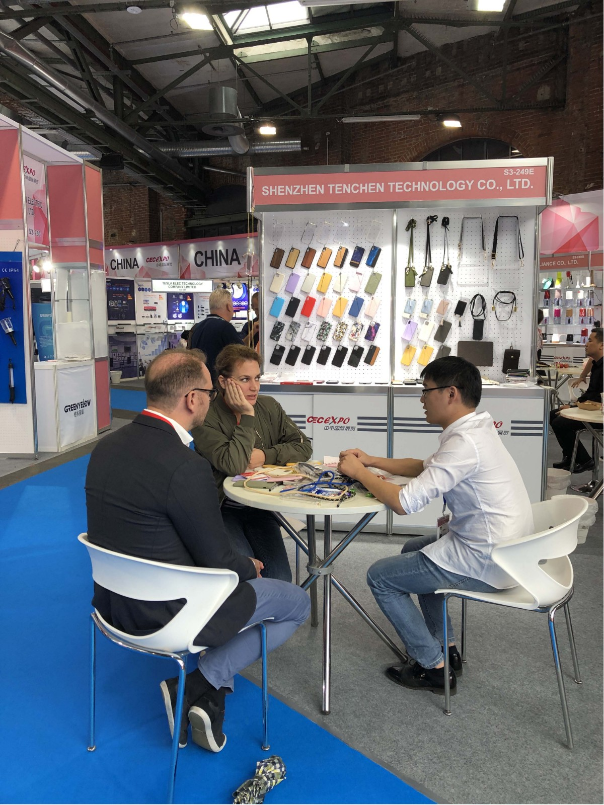 TenChen Tech-Ifa Exhibition In Germany