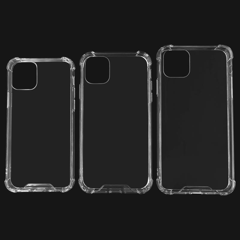 TENCHEN Clear tpu pc cell phone case with bumper-TenChen Tech
